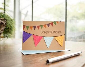 "Greeting Card/ ""Congratulations"""