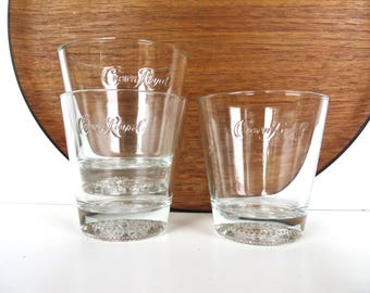 Crown Royal Glasses Double Old Fashioned