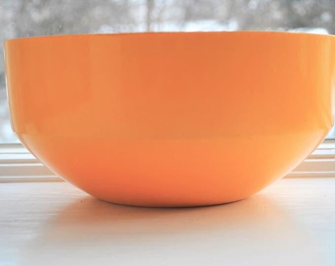 Vintage Rosti Mepal Yellow Large Bowl Salad Denmark Soren Anderson Mid Mod
