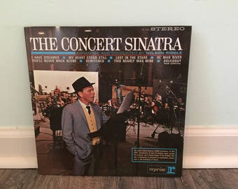 "Frank Sinatra ""The Concert Sinatra"" vinyl record"