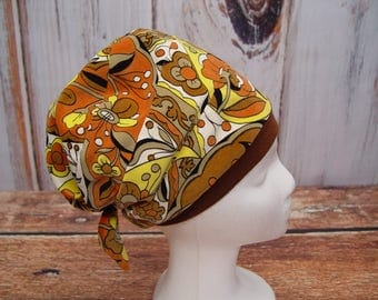 Vintage Velvet Turban Head Wrap, Retro Style Turban, Stretchy Turban