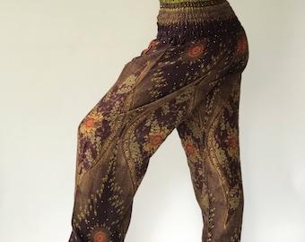 SM0019 Gypsy Pants Rayon Pants,Aladdin Pants Maxi Pants Boho Pants