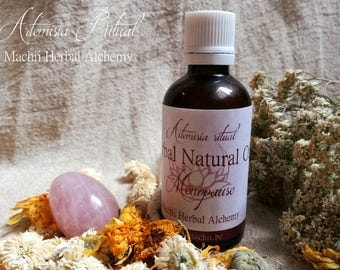 Menopause ARTEMISIA RITUAL ~ Herbal Alchemy Natural Herbal Oil