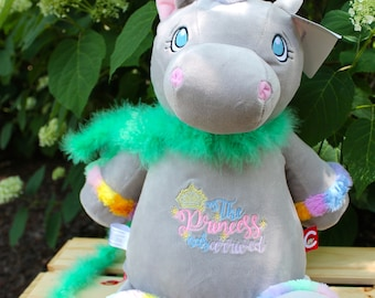 UNICORN, Cubbie, Gray Unicorn, Princess, Newborn Gift, Baby Gift
