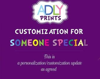 Customizing Personalizing my DIGITAL file
