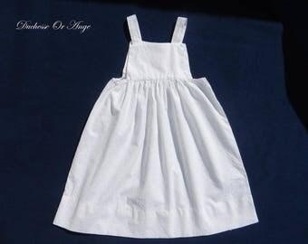 Girl white eyelet dress - 2 years