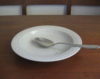 Quistgaard - Rare - CORDIAL PALET GRAY - Soup Plate - Bing Grondahl - MidCentury - Denmark