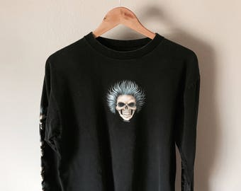 Long Sleeve Biker Tee