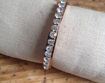 1920's bracelet ( ORIA and rhinestones)