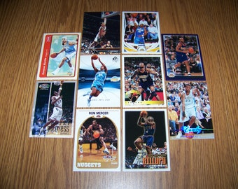 50 Denver Nuggets Basketball Cards