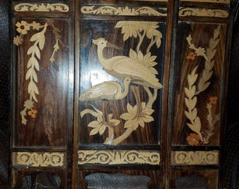 Wooden Carved Small Room Divider