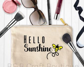 Hello Sunshine Makeup Bag