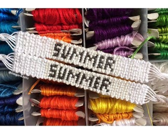 One Custom Name Bracelet