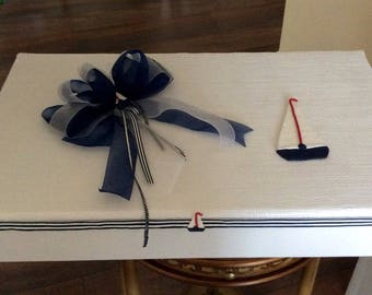 Nautical keepsake box