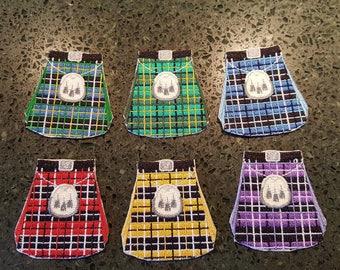 Scottish Kilt Iron-on Embroidery Patch