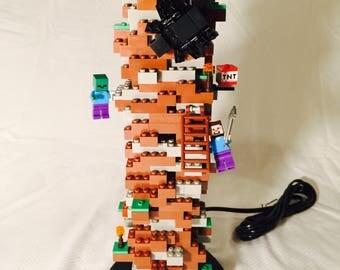 LEGO® Lamp - Minecraft