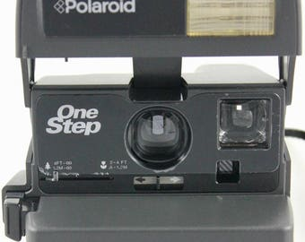 Polaroid One Step 600 Flash Instant Camera