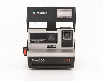 Polaroid Sun 600 LMS - Light Management System - Tested and in Working Condition 80s Polaroid 600 Originals