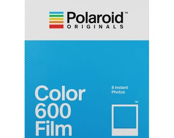 Color 600 Film for Polaroid 600 Cameras White Frame - POLAROID ORIGINALS 600 Color Instant Film