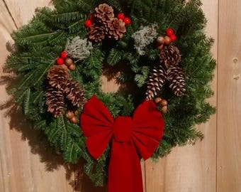 Reindeer Wreath