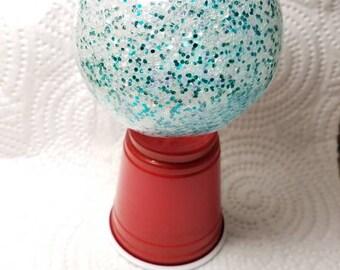 Sparkling mixed glitter ornament