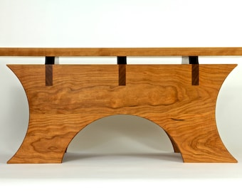 Wood Meditation Altar Table In Cherry Made To Order