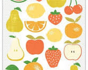 Studio Calico Fruit Chipboard Stickers