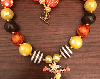 Tigger from Winnie the Pooh Bubble Gum Necklace (Child/Toddler)