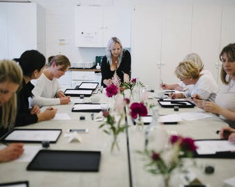 24TH FEBRUARY 2018 Modern calligraphy workshop in Manchester