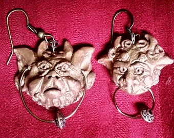 Labyrinth Knocker Earrings
