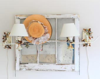 Scissor Lamp Articulating Adjustable Brass Swing Sconce
