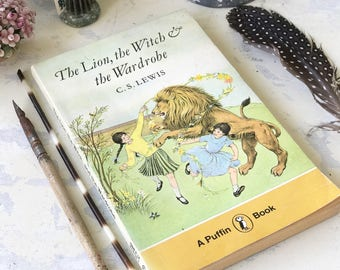 The Lion, the Witch & the Wardrobe by C.S.Lewis a Puffin book