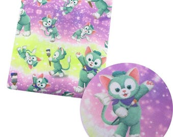 sweet little kitty fabric