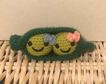 Crochet Peas in a Pod
