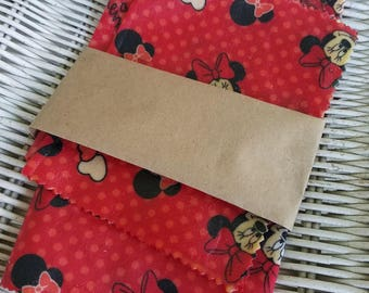 how to make reusable snack bags with bees wax