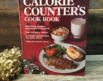 Vintage Better Homes and Gardens Cookbook/Calorie Counter's/Diet