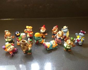 Kinder egg figurines