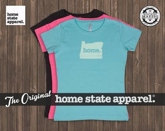 Oregon Home. T-shirt- Women's Relaxed Fit