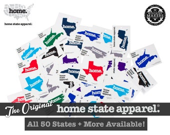 Vinyl Stickers - All 50 States Available