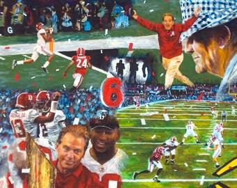 2018 Alabama Championship Collage