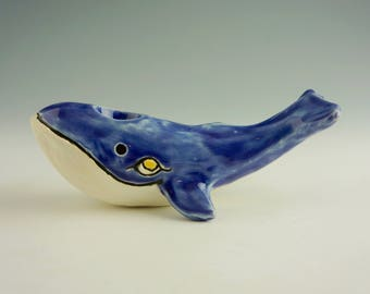Cerulean Serenade, humpback whale pipe