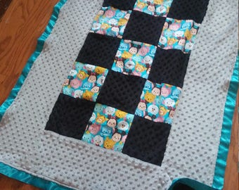 tsum tsum baby blanket. Ready to ship!summer sale!