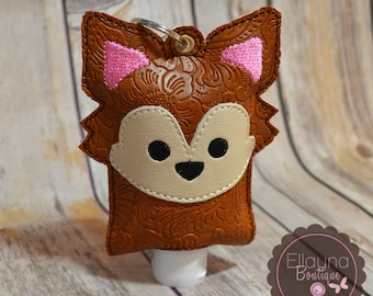 Hand Sanitizer Holder - Fox