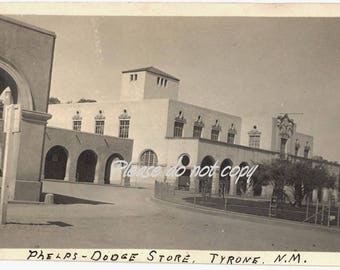 Phelps Dodge Store TYRONE NM  ~ Silver City New Mexico area ~ Vintage Snapshot Photo