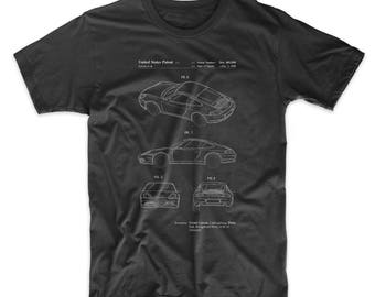 Sports Car Patent T Shirt, Classic Car, Sports Car, Car Shirt, Teen Boy Gift, PP0700