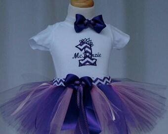 Purple 1st birthday tutu outfit.baby girl birthday dress,birthday onesie,skirt, first Birthday Outfit, Purple 1st Birthday Girl Outfit
