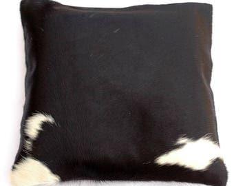 Natural Cowhide Luxurious Hair On Cushion/ Pillow Cover (15''x 15'') A49