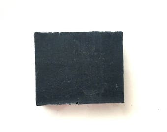 All Natural Lavender Charcoal Soap. Vegan. Made with Lavender Essential Oil