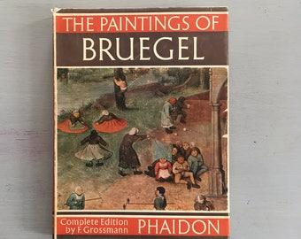 THE PAINTINGS Of BRUEGEL, Art Book, Vintage