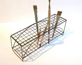Vintage Wire Rack Shelf Tool Organizer